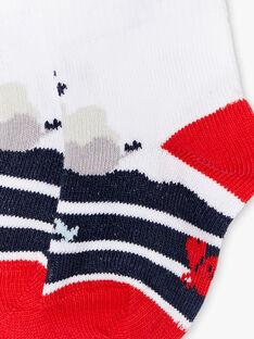 Socken mit Marinedruck ZAORAN / 21E4BGT1SOBC214