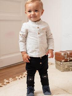 Baby Junge schwarzer Teddybär Hose BADAX / 21H1BG22PAN090