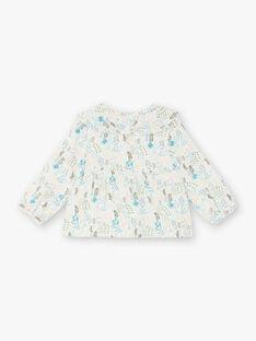 Bluse für Mädchen ZABELLE / 21E1BF71CHE009