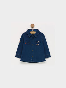 Dark denim Shirt PAOMER / 18H1BGK1CHMK005