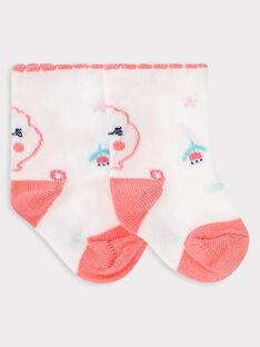Originelle Baby-Socke, für Mädchen, ecrufarben TAFIDELE / 20E4BFD1SOQ001