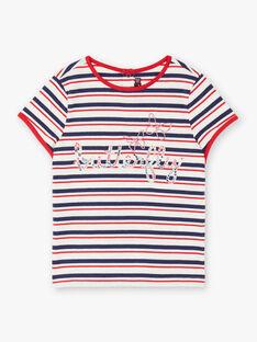 T-Shirt mit kurzen Ärmeln Kind Mädchen ZOBABETTE / 21E2PFB2TMC632