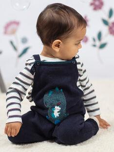 Baby Boy's Blaue Dinosaurier Latzhose BAJAMIE / 21H1BG91SAL715