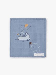 6 blaue und weiße Tücher Geburt Junge BOAZ / 21H0AG41ACD219