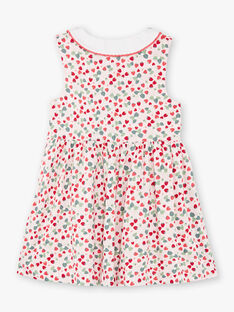 Rosa Erdbeere Druck Messgewand Kleid ZORABETTE / 21E2PFJ2CHS301