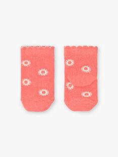 Koralle Socken Lotusblumen ZACOEUR / 21E4BFI1SOQ404