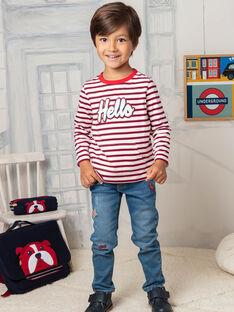 Rote und blaue Jeans für Jungen BEFAGE / 21H3PG51JEAP269