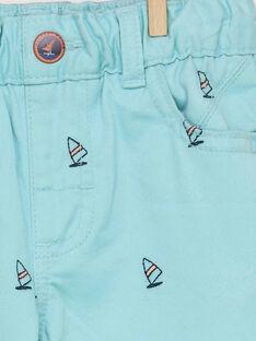 Türkisfarbene Bermuda Shorts RESAGE / 19E3PGD2BER203