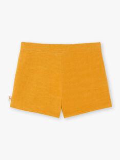 Gelbe Shorts für Mädchen BIKIETTE / 21H2PF51SHO109
