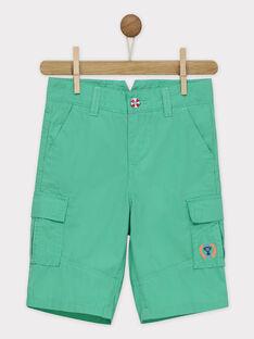 Grüne Bermuda-Shorts RUAFIAGE / 19E3PGP3BER611