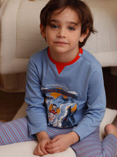Blauer Schlafanzug für Jungen ZEBAGAGE / 21E5PG15PYJC233