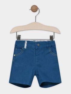 Bermuda-Shorts Baby Junge Entenblau SABOSTON / 19H1BG21BER714