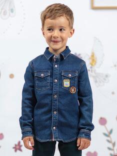 Baby Junge Langarm Denim Shirt BENOUAGE / 21H3PG91CHMP269