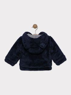 Jacke aus Kunstpelz Baby Junge, mit Jerseyfutter SINEO / 19H1BG72VES713
