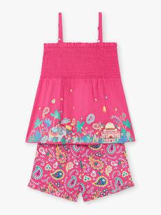 Rosa Pyjama Kind Mädchen ZEJEDETTE / 21E5PF24PYJD317