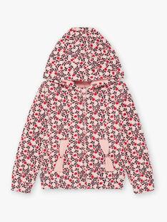 Rosa und roten Hoodie Kind Mädchen BROCHETTE / 21H2PF32JGHD314