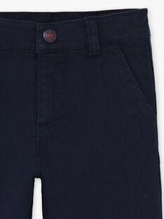 Marineblaue Hose für Jungen BEGRAGE / 21H3PG52PAN070