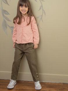 Kinderhose Mädchen ZAPAETTE / 21E2PF71PAN604