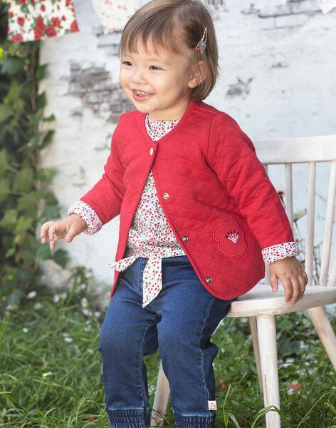 Baby Girl's Long Sleeve Reversible Cardigan BAANOUK / 21H1BF12CARF505