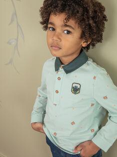 Kind Junge Junge Polohemd ZADOAGE / 21E3PG71POLG619