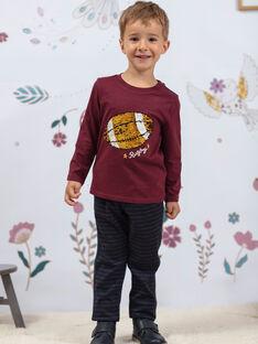 Blau karierte Hose für Baby-Jungen BETAGE / 21H3PG92PAN715
