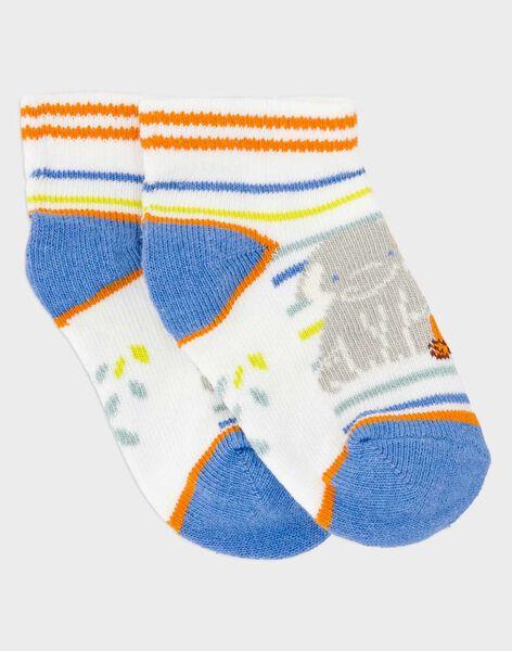 Kurze Socken weiß RASWAN / 19E4BGM1SOB001