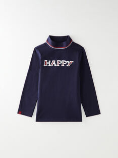 Navy ROLL-NECK VUXPIAGE-3 / 20H3PGG2SPL705