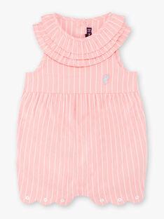 Baby Mädchen rosa Jumpsuit ZAPRUNE / 21E1BFT1CBLD305