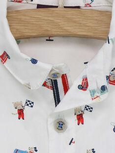 Weißes Hemd RAPAULIN / 19E1BGH1CHM000