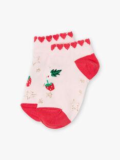 Rosa und fuchsiafarbene Socken ZOKOUETTE / 21E4PFJ1SOB301