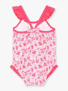 Rosa Baby Mädchen Badeanzug ZISUCRE / 21E4BFR2MAI001