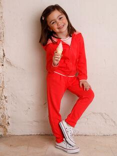 Jogging<br>•Jacke für Mädchen ZLUDETTE 1 / 21E2PFK2JGH419