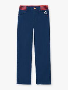 Blaue Hose mit elastischem Bund ZAFUNAGE / 21E3PGI1PAN705