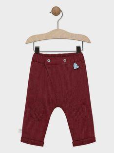 Fein gestreifte Baby-Hose für Jungen SAORTON / 19H1BGE1PAN503