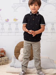 Taupefarbene Hose für Baby-Jungen BANAGE / 21H3PG22PAN631