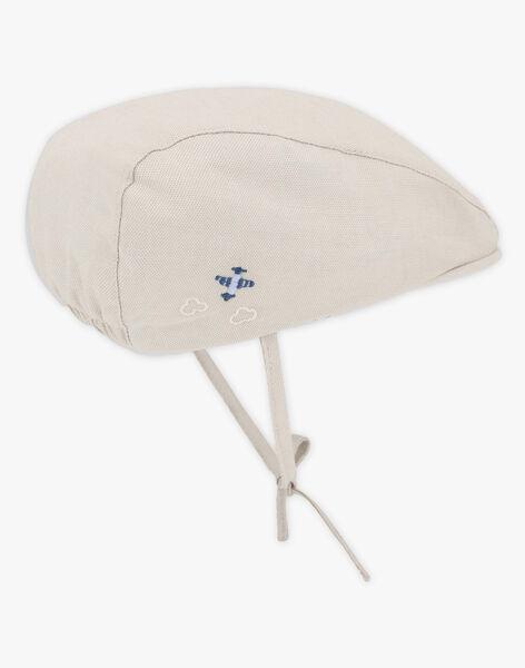 Baby-Hut für Jungen, beige TAJOHNNY / 20E4BGJ1CHA808