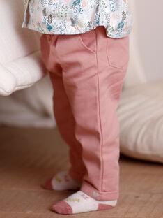 Baby Mädchen rosa Hose ZABONY / 21E1BF71PAND327