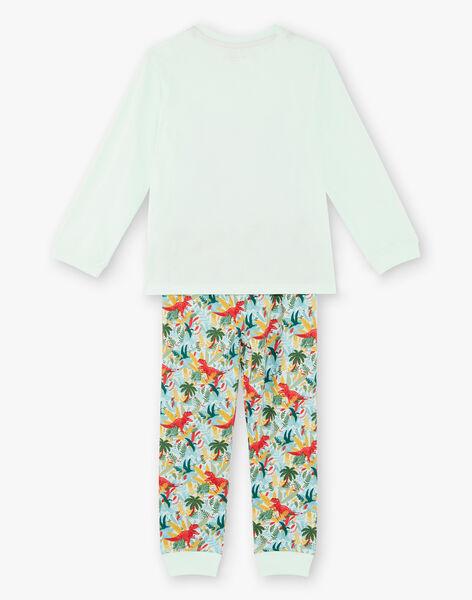Pyjamas mit phosphoreszierenden Details für Kinder und Jungen ZEBRANCHAGE / 21E5PG11PYJ614