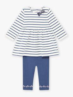Baby Girl's Sailor Kleid und Leggings Set BAKAMILLE / 21H1BFL1ENS001
