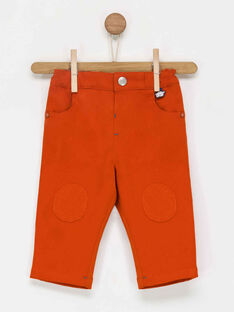 Orange pants PADENIS / 18H1BG61PAN400