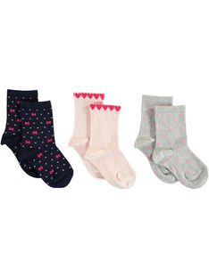 Navy PACK OF 5 PAIRS OF SOCKS VEJONETTE / 20H4PFC1LC5705