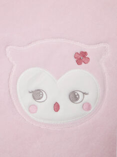 Baby Mädchen blass rosa Decke BOA / 21H0AF41D4P301
