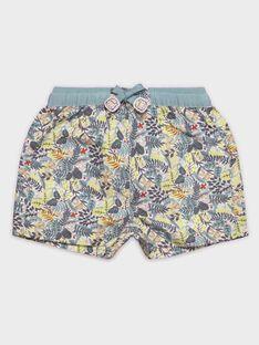 Baby-Badeshorts mit Dschungel-Print für Jungen TIBASTIEN / 20E4BGI1MAI001
