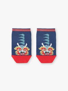 Rote und blaue Drachensocken ZASOCAGE / 21E4PGI1SOB705