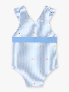 Baby Mädchen blau und weiß Badeanzug ZISOPHIA / 21E4BFR3MAI208