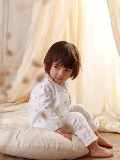 Weiße Baby Mädchen Hose ZANOOR / 21E1BFO1PAN000