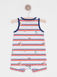 Kurzer Baby-Overall für Jungen mit Print TODEVI / 20E1BGV2CBL001