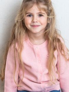 Strickjacke Kind Mädchen ZLADETTE1 / 21E2PFK1CAR413