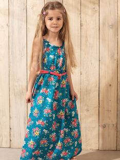 Strandkleid Mädchen Sergent Major, aus unserer originellen Kollektion, die die Phantasie von Kindern im Alter von 0 bis 11 Jahren anregen soll. TEUMETTE / 20E2PFX1RBS210