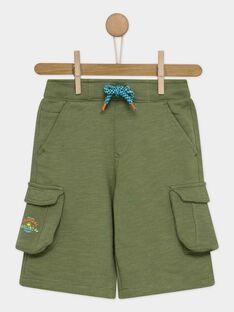 Khaki Bermuda Shorts RUTILAGE / 19E3PGQ1BER612
